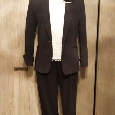 ママの卒業式・入学式服、お手持ちの黒の上下で出来ますよ!の記事に添付されている画像