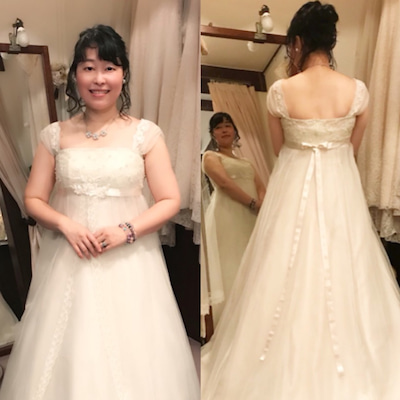 素敵なウエディングドレスを着れるイベントへ行ってきました♪の記事に添付されている画像