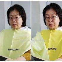 パーソナルカラーで印象が変わるの記事に添付されている画像