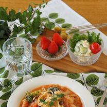 キャベツとウィンナーのトマトクリームパスタの記事に添付されている画像