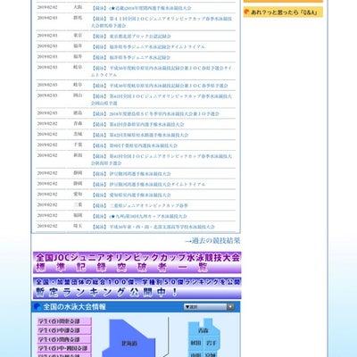 春季JOC標準記録突破者一覧の記事に添付されている画像