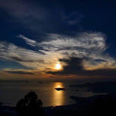 キレイな小豆島+ 西之滝からの夕陽の記事に添付されている画像