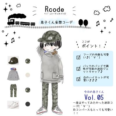Rcode♦今日の息子くんVo.5の記事に添付されている画像