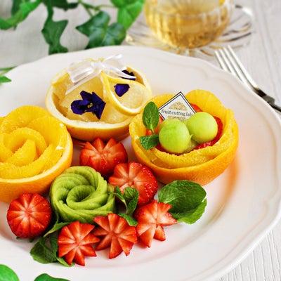 新緑に映えるフルーツカット1dayレッスン~きれいな薔薇を作るコツをお教えしますの記事に添付されている画像