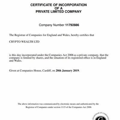 cryptowealth(日利3.6%)の紹介の記事に添付されている画像