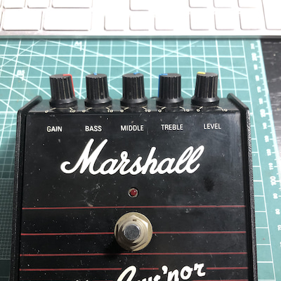 Marshall / The Guv'nor 1st test !!の記事に添付されている画像