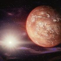 火星と天王星の接近中につきの記事に添付されている画像
