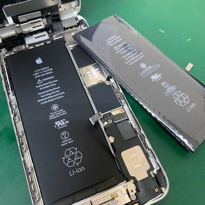 2月13日修理事例①iPhone6sPlusバッテリー交換!iPhone修理工房の記事に添付されている画像