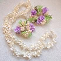 春だなぁ~~リボンで作るお花畑♡の記事に添付されている画像