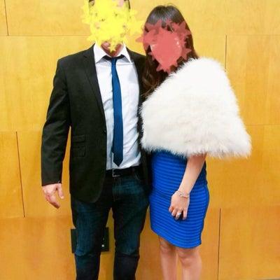 結婚1周年の記事に添付されている画像