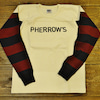 "Pherrow's ""Football Longsleeve Tee 19S-PAFL1""入荷!の画像"