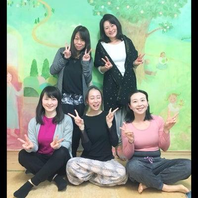 ヨガのティーチャートレーニング仲間 「しおちゃん」のヨガクラス参加レポの記事に添付されている画像