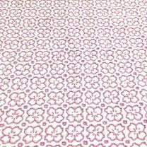 桜の花の刺し子ふきん 完成の記事に添付されている画像