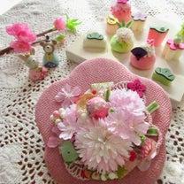 雛祭り・ウォールアレンジ in お家レッスン(Bさん・Oさん・Kさん)の記事に添付されている画像