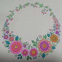 №97 フラワーズ 花を彩るぬりえブック#2の記事に添付されている画像