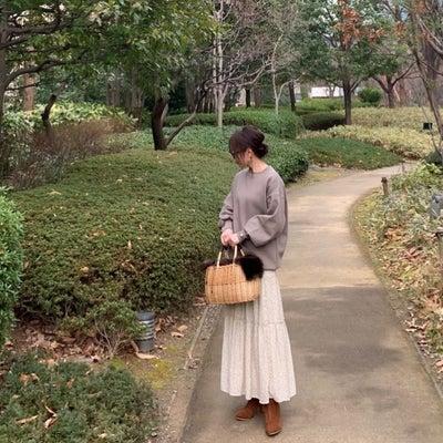 しまむら完売間近の可愛い春新作スカートでコーデ♪の記事に添付されている画像