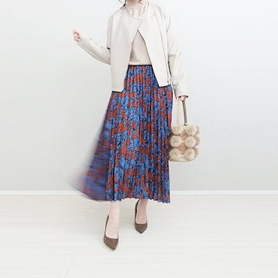 titivateのハイデザインプリーツスカート×ライダースJKで甘辛コーデ!の記事に添付されている画像