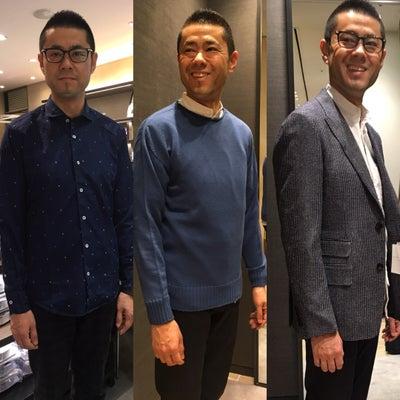ショッピング同行実践【メンズファッション】の記事に添付されている画像
