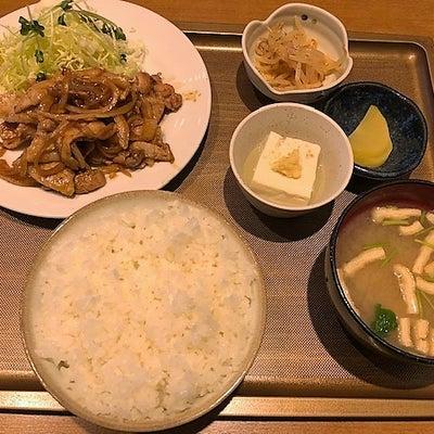 ドライブイン太陽(栃木県矢板市) 肉しょうが焼き定食の記事に添付されている画像