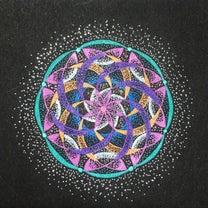【自信】点描曼荼羅の記事に添付されている画像