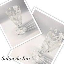 ポーセラーツ作品♡ワイングラスの記事に添付されている画像