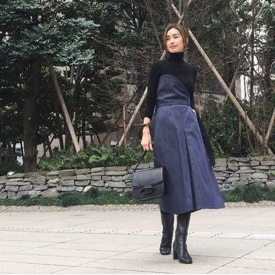 @ELENDEEKの新作 3wayのスカートの 昨日の服の記事に添付されている画像