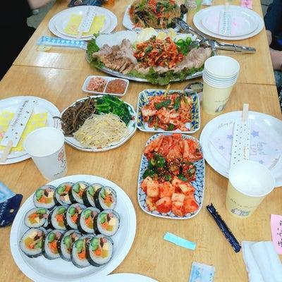 2月10日第一回旅好き飲み会♪~一次会はマンナ食品で韓国料理~の記事に添付されている画像