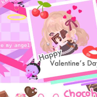ピグ木蓮のバレンタイン短歌2019の記事に添付されている画像