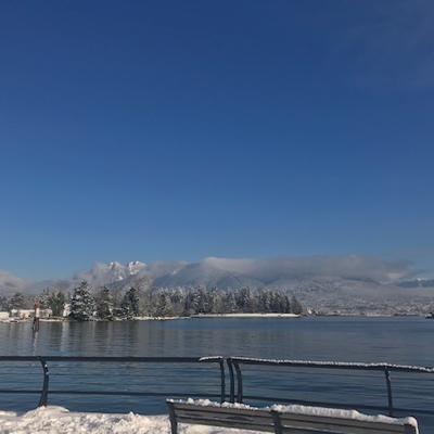 今年の、バンクーバーの2月は、お天気は記録づくめだそうです。の記事に添付されている画像