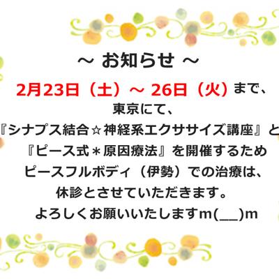 あと10日で東京開催 シナプス結合☆神経系エクササイズの記事に添付されている画像