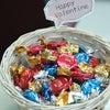 今日はバレンタイン♪フロントでチョコっとプレゼント♥の画像