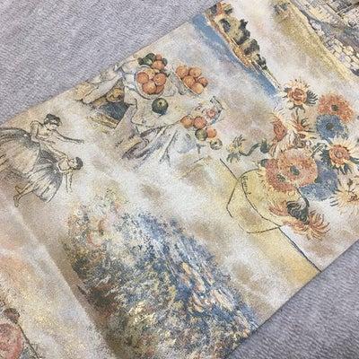 西洋絵画の袋帯の記事に添付されている画像