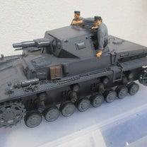 タミヤ Ⅳ号戦車 D型 上部転輪 ツール塗装の記事に添付されている画像