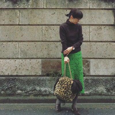 グリーンのレーススカートを綺麗に着すぎないの記事に添付されている画像