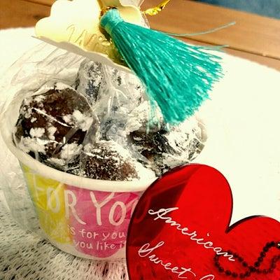 バレンタインチョコ作りの記事に添付されている画像