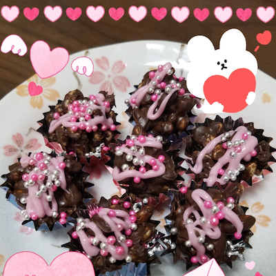 バレンタイン♡の記事に添付されている画像