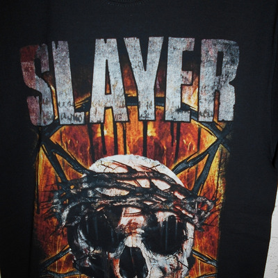 DOWNLOAD FES JAPAN  1弾 SLAYER Tシャツ特集の記事に添付されている画像
