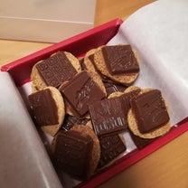 バレンタインのチョコレートの記事に添付されている画像