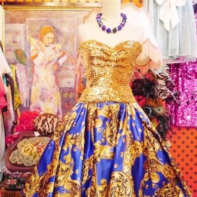 ヴィンテージパーティースカート!ヨーロッパレディース古着Goghゴッホの記事に添付されている画像