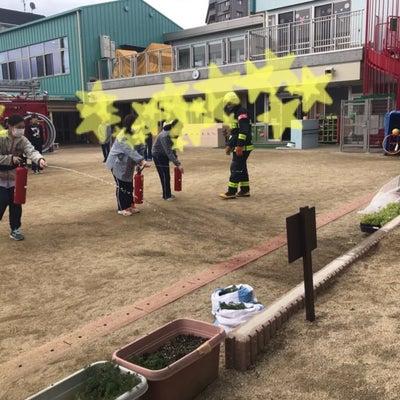 枚方保育所避難訓練の記事に添付されている画像