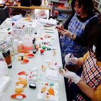 食品サンプルお寿司講座の記事に添付されている画像