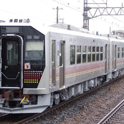 JR東日本GV-E400系量産先行車 電気式気動車甲種輸送 2018年1月10日の記事に添付されている画像