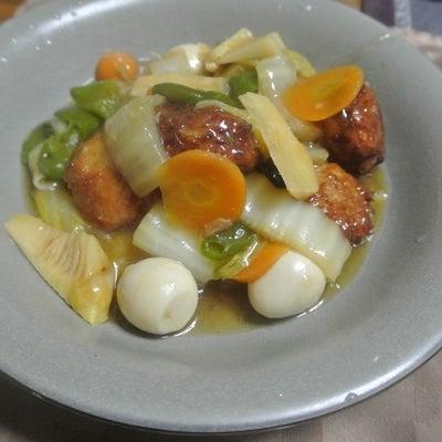 鶏肉団子の八宝菜風の記事に添付されている画像