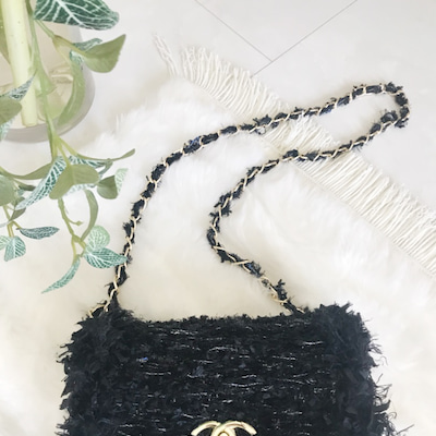 『Tweed Style & MoFuMoFu Fur BAG』ショルダーバッグの記事に添付されている画像