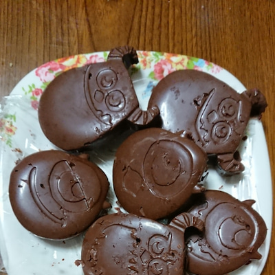 バレンタインデーはチョコクランキーの記事に添付されている画像