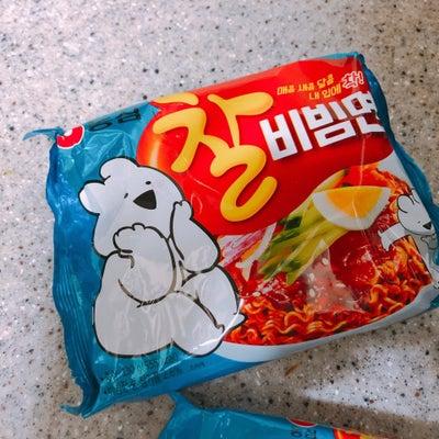 【作り方TIP公開】韓国インスタントビビン麺【2月14日夕食】の記事に添付されている画像