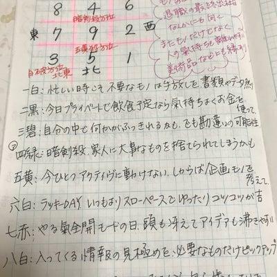★おやすみ前のノートから 2月16日の九星さん★の記事に添付されている画像