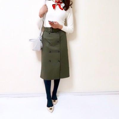 【GU】発売を待ちわびていた新作スカート/超簡単にこなれ感が出せる小ワザ♪の記事に添付されている画像
