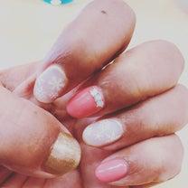 バレンタイン♡ネイルチェンジの記事に添付されている画像