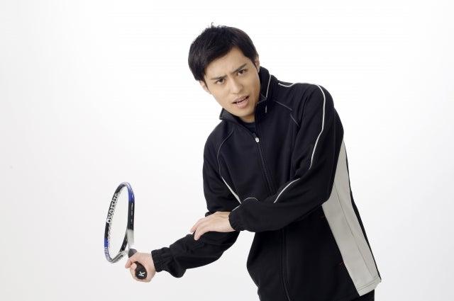 テニスで力む
